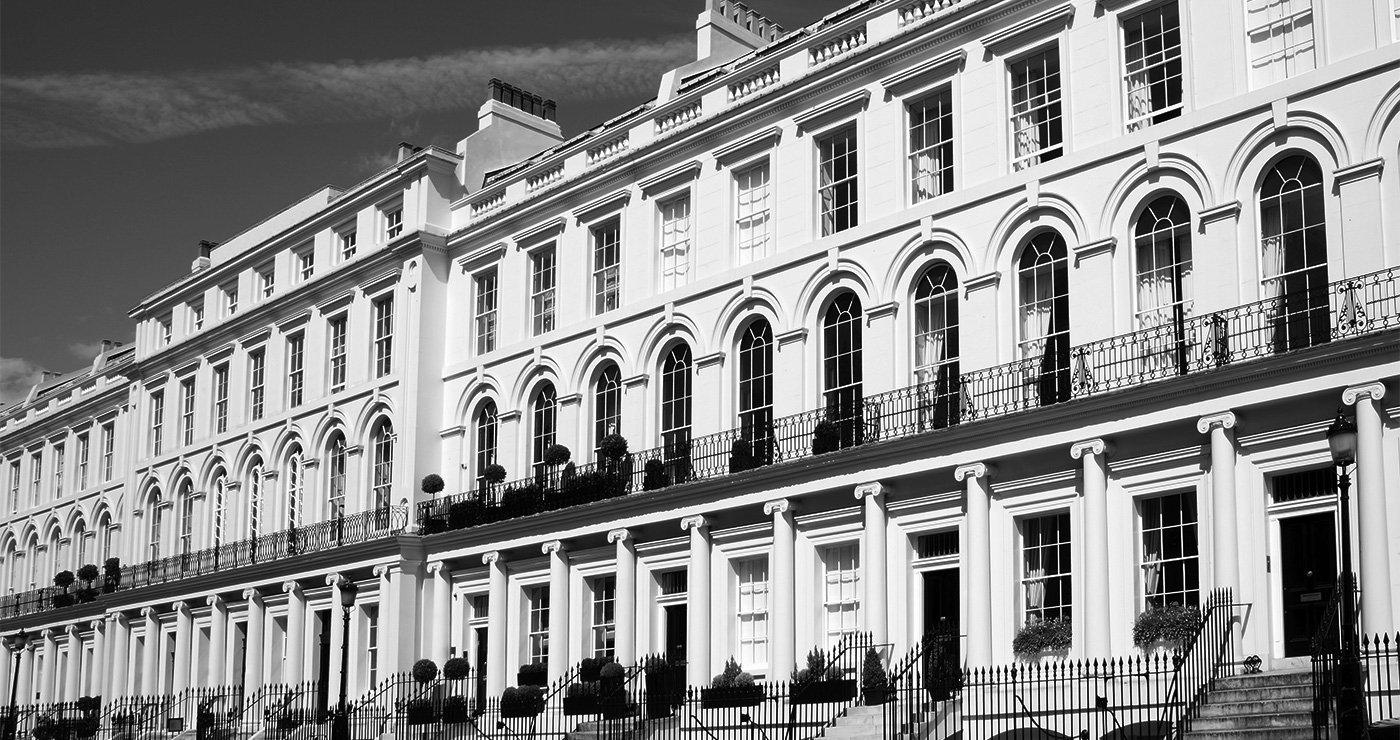 Vertical Sliding Sashes, Casements on house facades